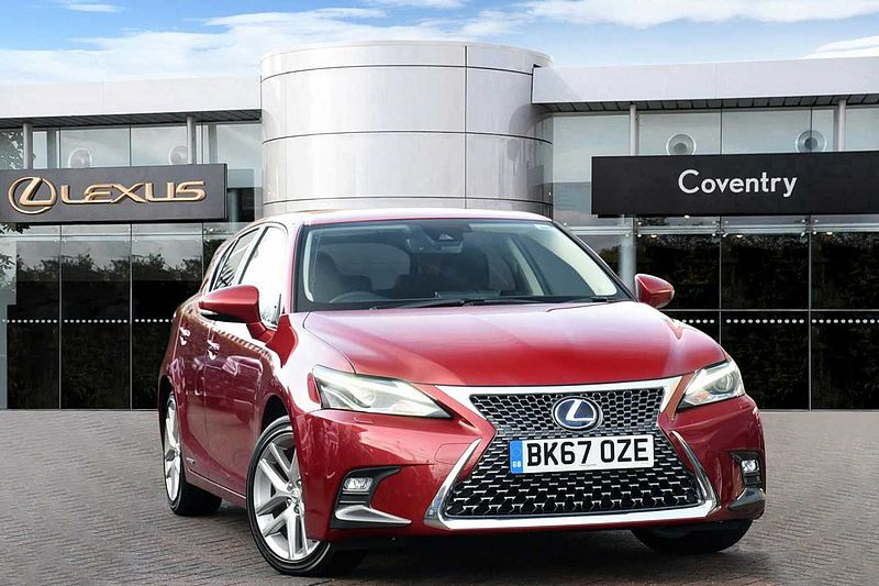 Lexus CT 200h 1.8 Premier Low Mileage Mark Levinson Reversing Camera